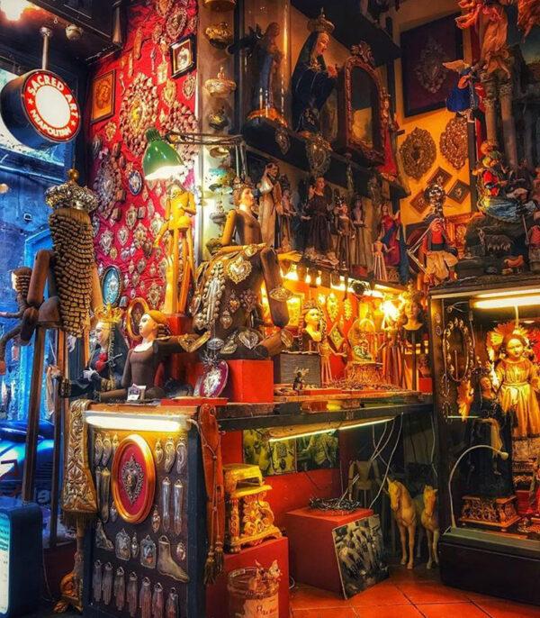 Il laboratorio di arte sacra