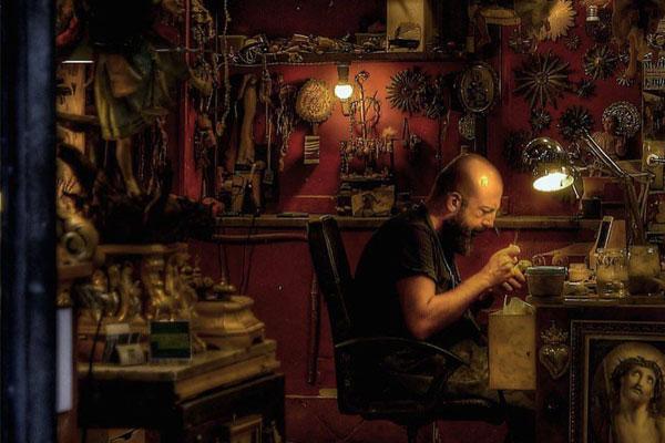 Laboratorio Arte Presepiale a Napoli