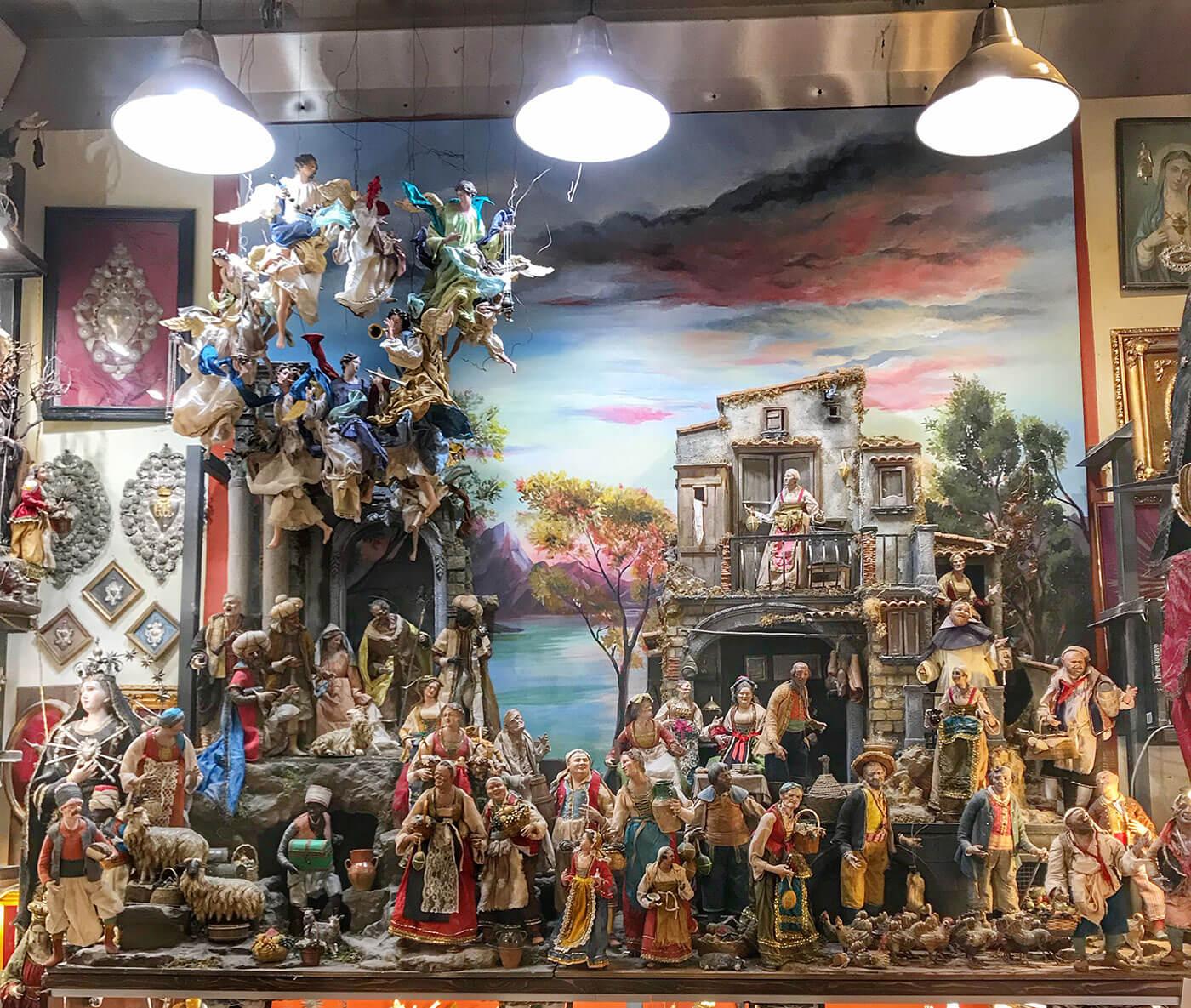 Esordi dell'arte presepiale napoletana